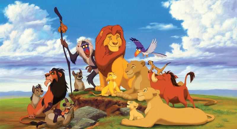 le (nouveau) roi lion LionKingCast1