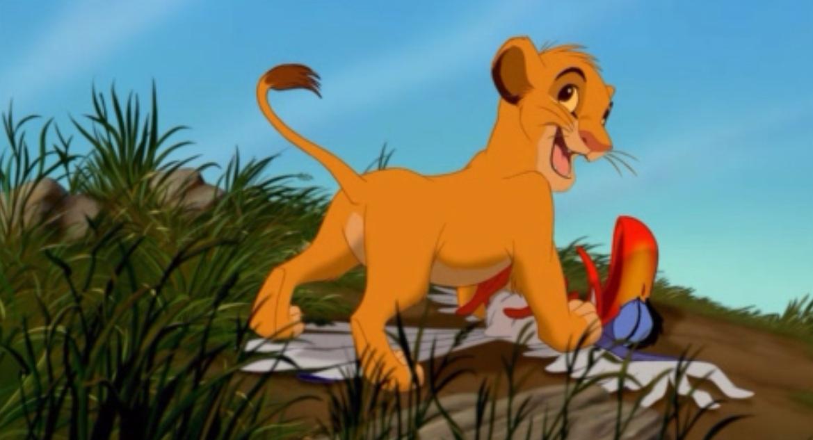 Le roi lion 1994 ou l histoire de la vie expliqu e aux - Dessin simba roi lion ...
