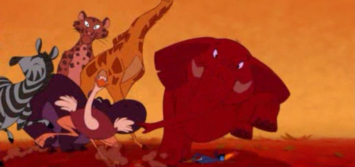 Le roi lion 1994 ou l histoire de la vie expliqu e aux - Animaux du roi lion ...