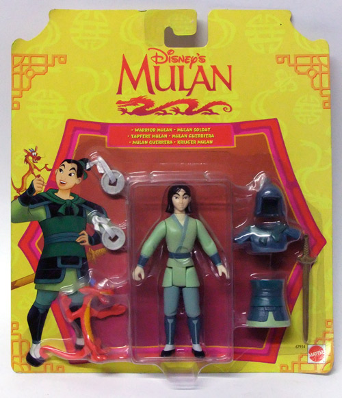 Mulan-warrior