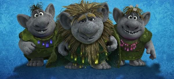Les trolls - Personnage reine des neige ...